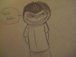 Toshiaki's Evil Smile by kibadoglover45