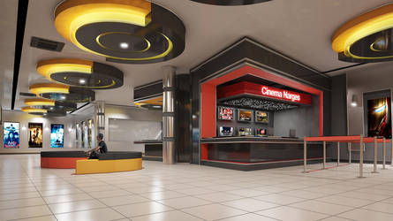 Narges Cinema Interior by sayeh-roshan