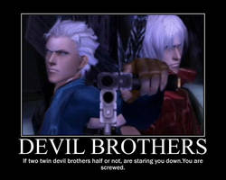 Dante and Vergil motivational by TheTyrantDick