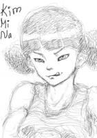 Mina Kim by Puthida