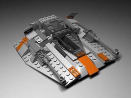 Lego Snowspeeder textured by mrinc