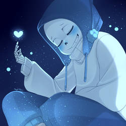 You are my most beautiful dream - Insomne!Sans by NeykStar
