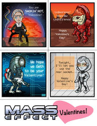 Mass Effect Valentines - Set 2 by Capital-J