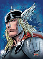 THOR  color by dymartgd
