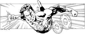 Green Lantern by dymartgd