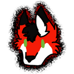 [C] Red Chibi Headshot by Dare-o