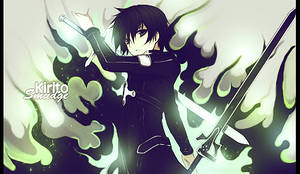 Kirito - Smudge by StrengXD