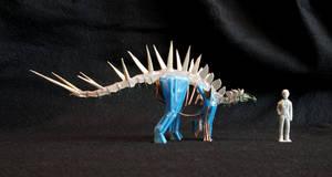 Natronasaurus (''Stegosaurus'') longispinus by DiNoDrAwEr