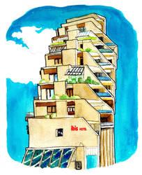 Ibis-hotel-montpellier by derfx2