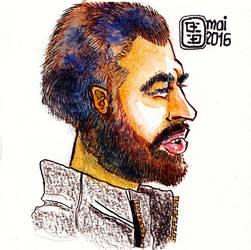 Barcelona-male-portrait by derfx2
