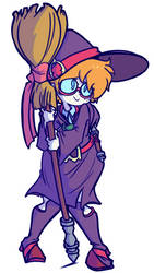 Little Witch Lotte by CRLryanstorm