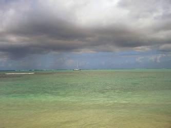 Lonely Boat by monkeyman1988