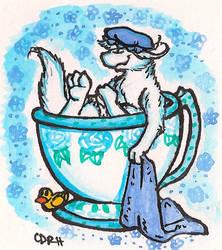 Teacup Tak by Dollmancer