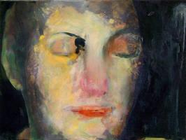 Linda Dreaming by mooreartist