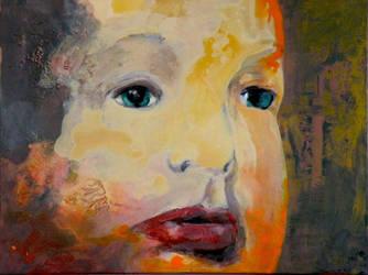 Bliss - Portrait of Sam by mooreartist