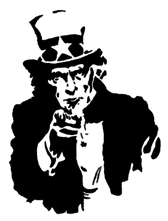Uncle Sam by GraffitiWatcher