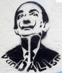 Salvador Dali by GraffitiWatcher