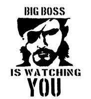 Big Boss is watching you by GraffitiWatcher
