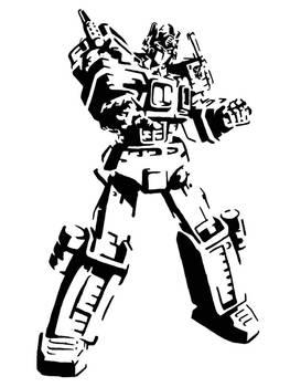 Optimus Prime by GraffitiWatcher