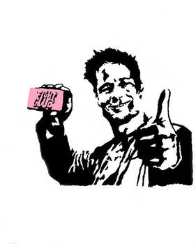 Fight Clubs Tyler Durden by GraffitiWatcher