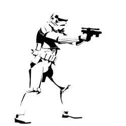 Storm Trooper by GraffitiWatcher