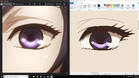 Tokyo Ghoul:re Touka Eye Drop by Ryuto38