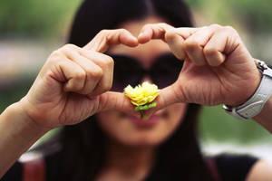 Flower Heart by FromAshesToEden