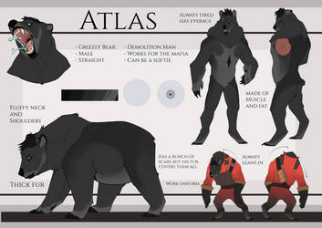Atlas Redesign by Troysaur