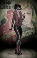 Chloe in the 1940s by Miss--Chloe