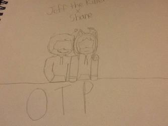 Jeff the Killer x Shane by LegoBronyClockwork