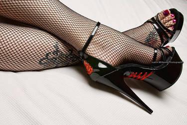 Corset Heels II by Seiran-Photography