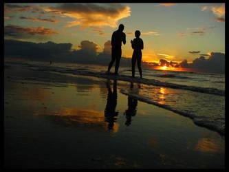 sunset... by Eikka
