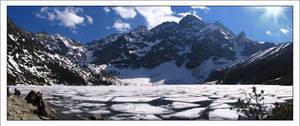 mountains.. panorama by Eikka