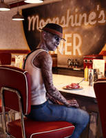 Fine Dining at Moonshine's by armieri