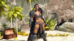 Beach Barbarian by armieri