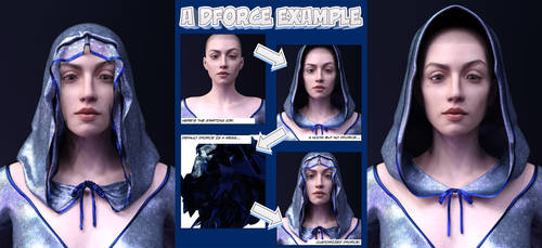 dForce Dynamic Clothing Example and Tutorial by armieri
