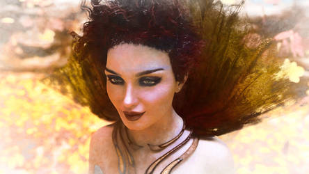 The Autumn Queen by armieri