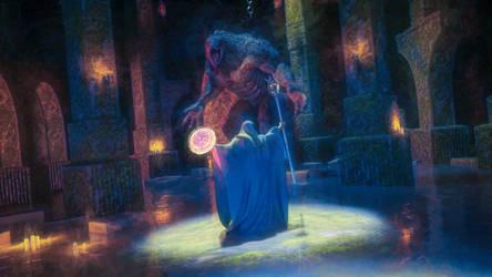 Brutal Dungeon: Wizard by armieri