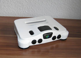 N64 Black and White Edition by Ernie76