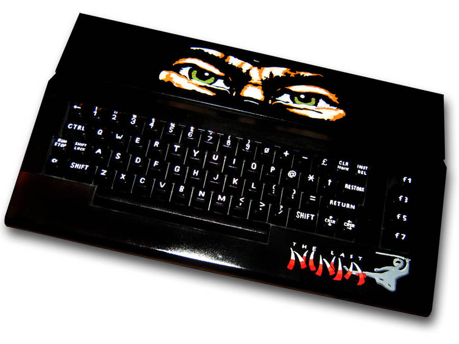 The Last Ninja C64 Casepainting by Ernie76