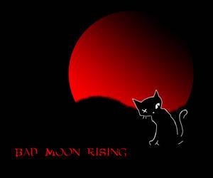 bad moon rising by mercscilla