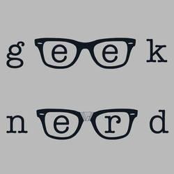Geek/Nerd by BryanLedford-Ink
