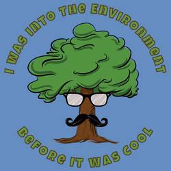 Hipster Tree by BryanLedford-Ink
