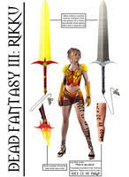 Dead Fantasy III: Rikku by Symber