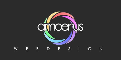 Amoenus Logodesign by Grafikhahn