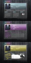 Frank Z Portfolio Design by Grafikhahn