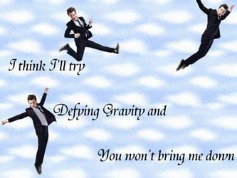 Defying Gravity- Chris Colfer by fuzzypurplequill