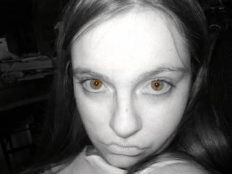 Fire Eyes by fuzzypurplequill