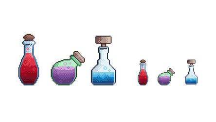 Potions by Stanzioni