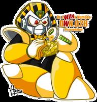 DWN28 Pharaohman by ApplesRockXP